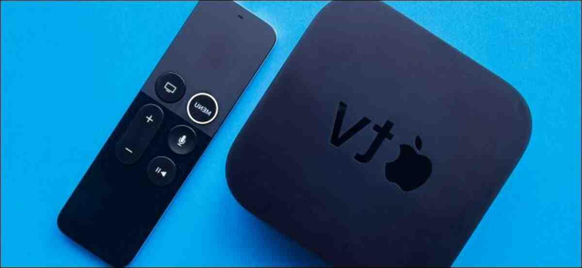 Comment réinitialiser l'Apple TV ?
