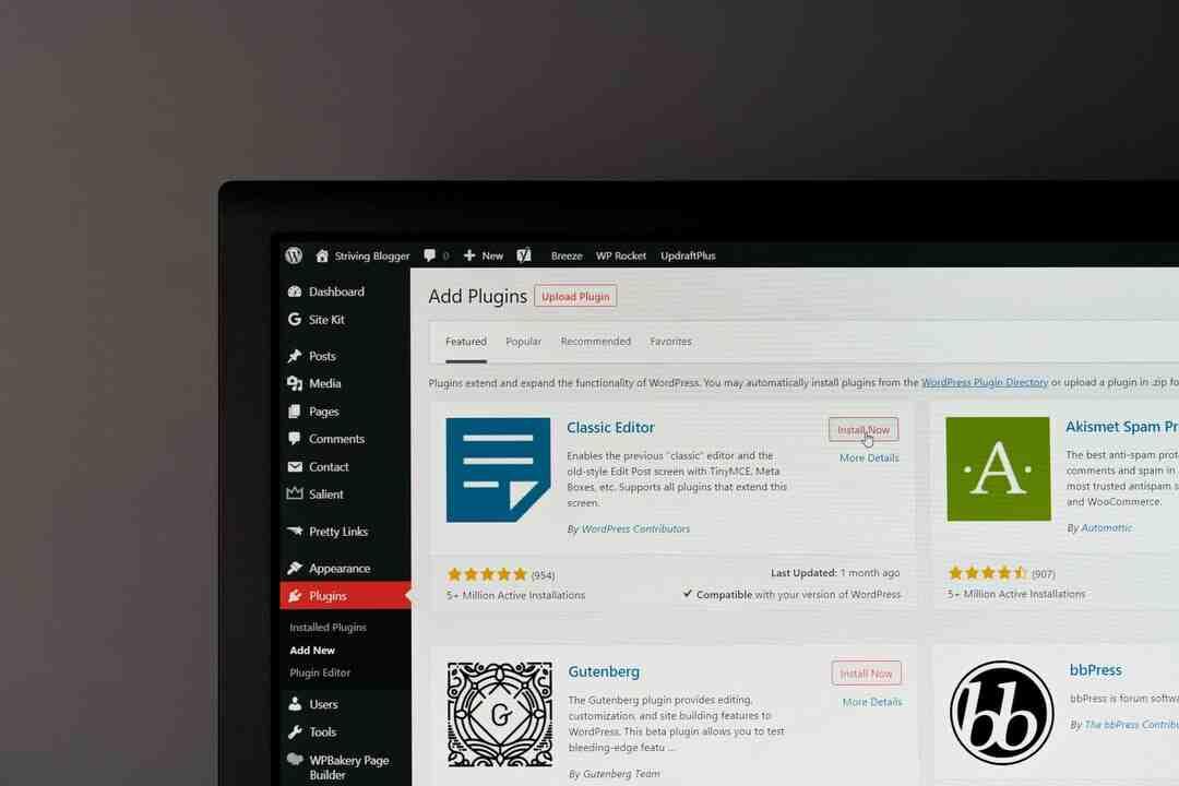 Qu'est-ce que ne peut pas faire WordPress d'origine ?